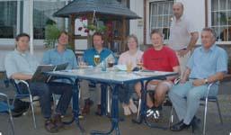 Arbeitskreissitzung 08.06.2004 im Gasthaus Stockholm