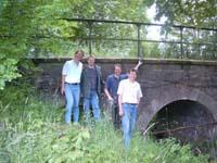 Erkundung Radwanderweg 06.06.2004 Suntalbahnbrücke über die Hamel